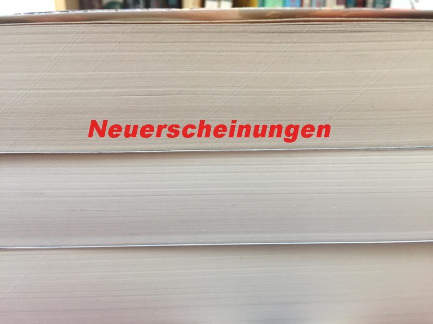 {Neuerscheinungen} 4 Bücher, auf deren Release im Oktober ich michfreue