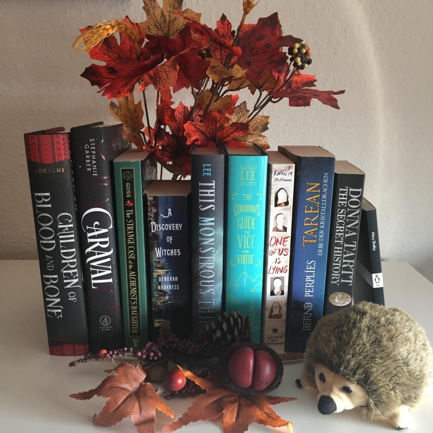 {Leseplanung} Herbst 2018 – es ist Zeit für Fantasy &Mystery